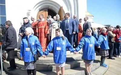 Патриарх Кирилл совершил литургию памяти великомученика Георгия Победоносца