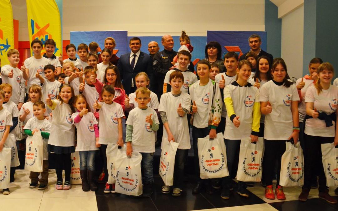 В День защитника Отечества фонд «Защитник счастья» организовал для детей праздничное мероприятие