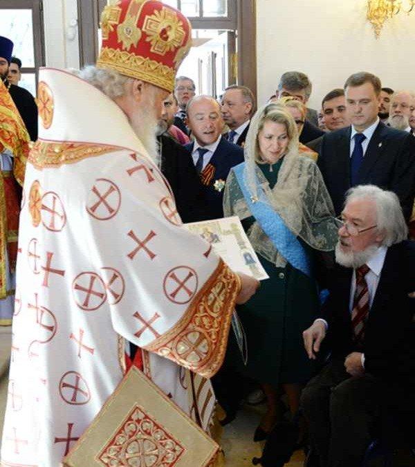 Святейший Патриарх Московский и всея Руси Кирилл совершил чин великого освящения храма Преображения Господня на Преображенской площади г. Москвы