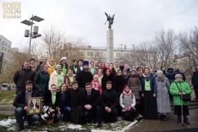 Патриарх Кирилл освятил Храм , который возведен в память о жертвах теракта в ДК на Дубровке