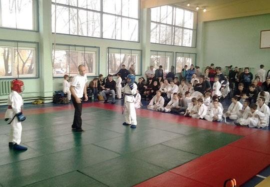 «Защитник Счастья» помог организовать детские соревнования по рукопашному бою в Ступинском районе