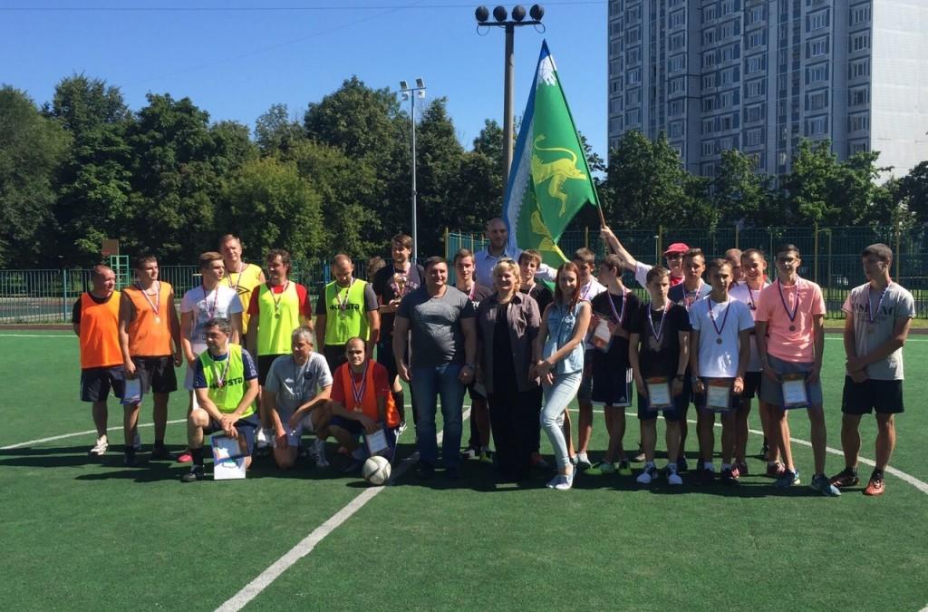 В Выхино-Жулебино прошел Кубок района по футболу