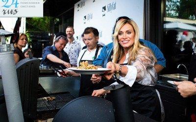 Звезды приготовили «благотворительное» барбекю для талантливых детей