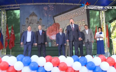 Большой праздник в Рязанском районе (10 сентября, открытие Аллеи Славы и День города )
