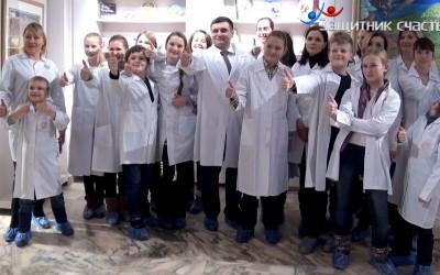 Воскресный папа на Бабаевской фабрике шоколада