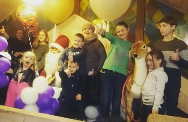 Подопечные фонда «Защитник счастья» побывали в семейном развлекательном парке «Skazka»