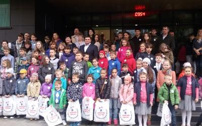 Экскурсия для детей сотрудников Росгвардии Чеховского отдела вневедомственной охраны.