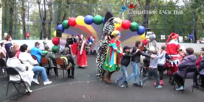 Празднование Дня Города в Нижегородском районе г. Москвы