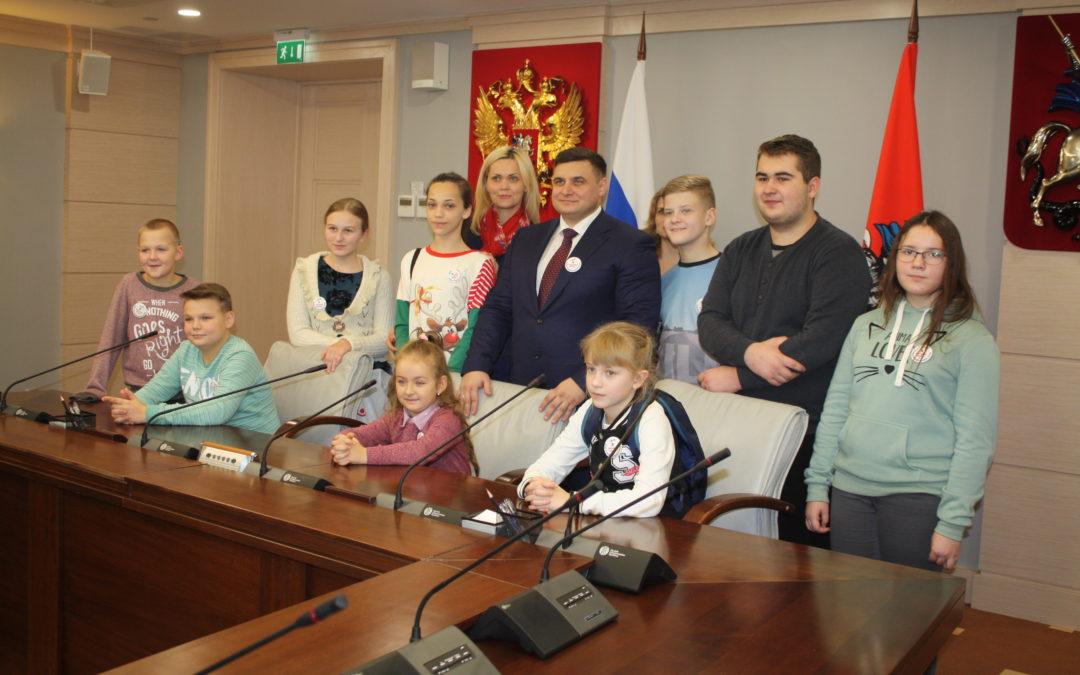 Экскурсия в Московскую городскую думу