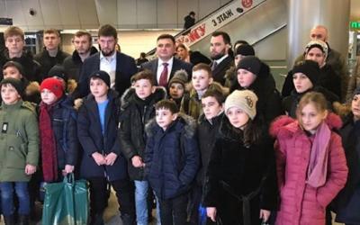 Поездка для детей из Чеченской Республики