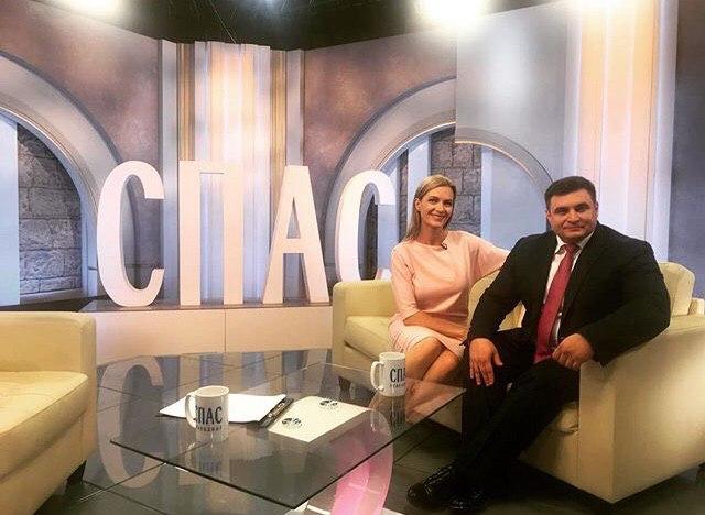 В гостях у телеканала «СПАС»