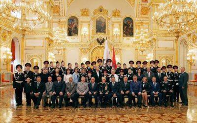 Кадетская клятва в Кремле