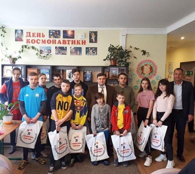 День осмонавтики в детском доме «Спутник»