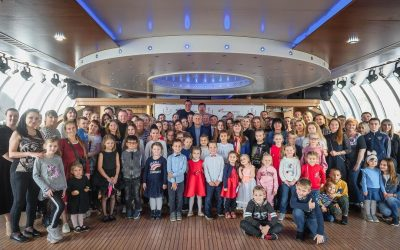 Праздник на Яхте Рэдиссон для детей