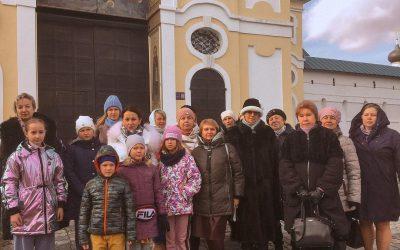 Благотворительный фонд «Защитник счастья» устроил экскурсию в Новоспасский монастырь