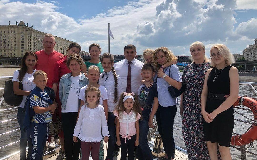 Экскурсия по Москве-реке на теплоходе Редиссон