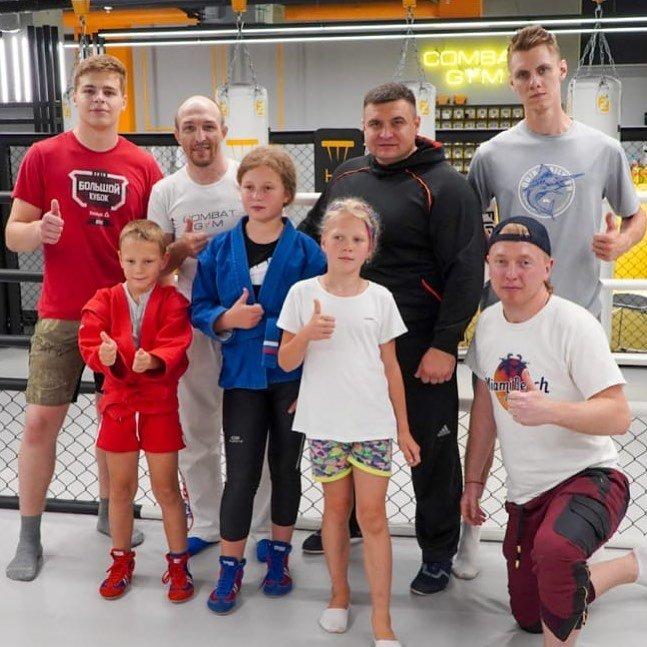 Совместная тренировка под руководством 2 кратного чемпиона мира по Самбо Сергеева Виталия