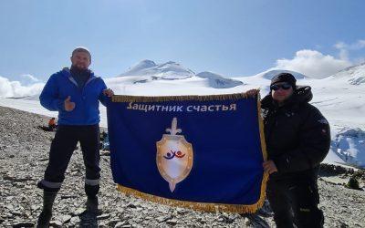 Подъем в штурмовой лагерь высотой 4200 м, Горы Казбек со стороны Северной Осетии